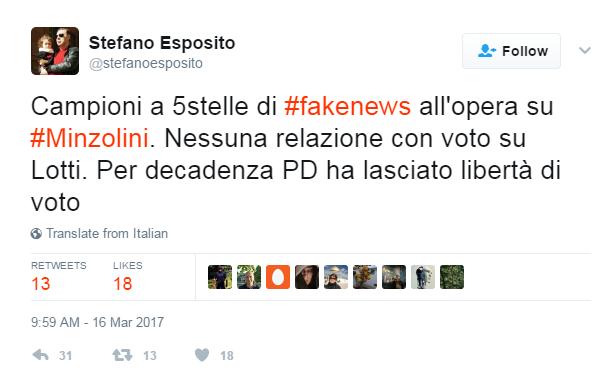 Augusto minzolini decadenza voto - 1