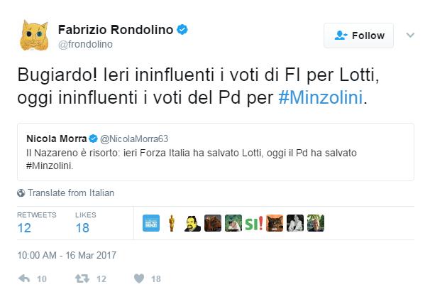 Augusto minzolini decadenza voto - 2