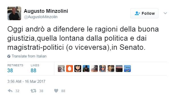 Augusto minzolini decadenza voto - 3