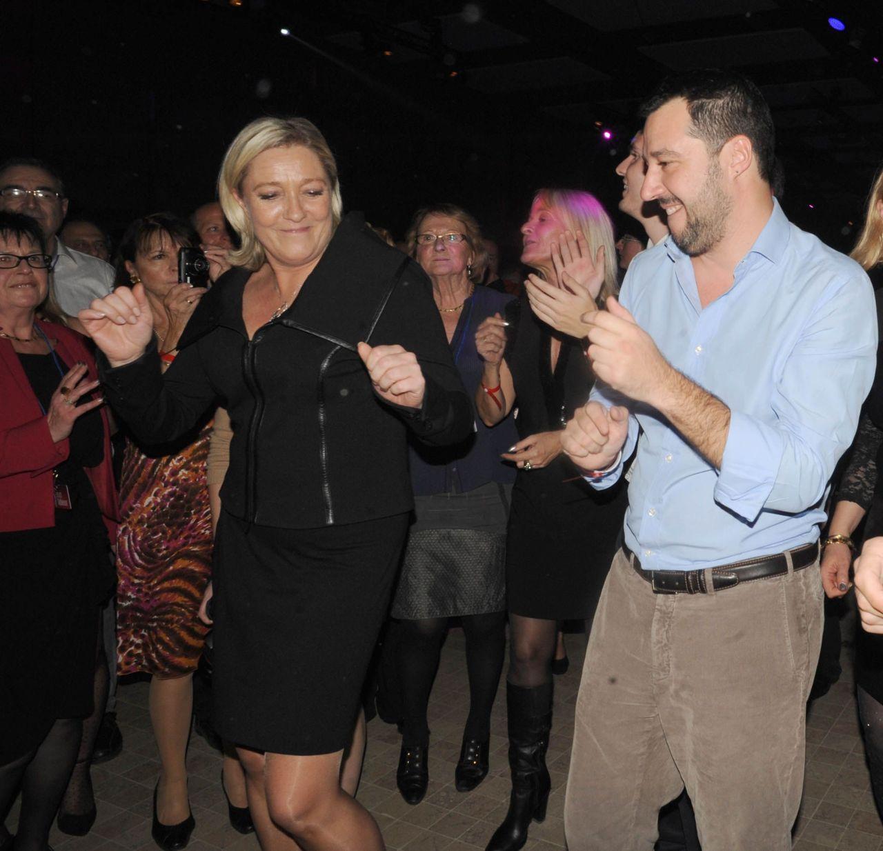 Matteo Salvini immunità Marine Le Pen - 2