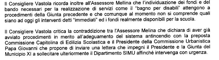 affidamenti diretti municipio XI bando gara m5s -5