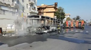 atac bus fiamme ciampino