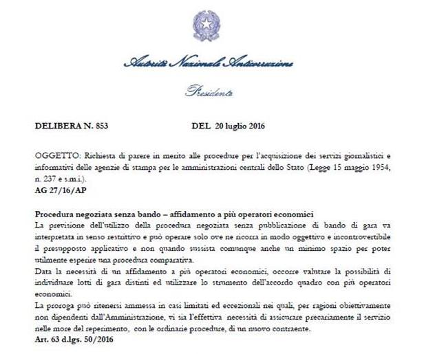 bando europeo agenzie di stampa luca lotti direttiva lotti - 1