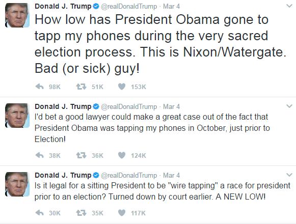 donald trump obama intercettazioni - 1