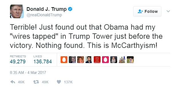 donald trump obama intercettazioni - 2