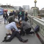 donna velo attentato londra ponte - 4