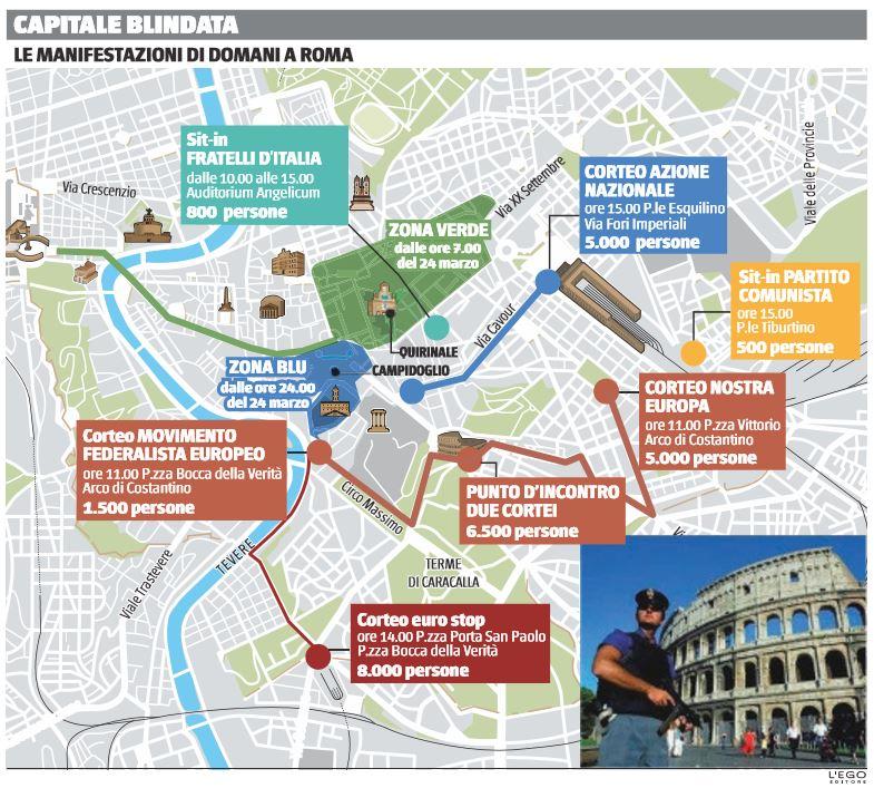 emergenza sicurezza roma