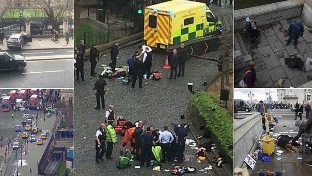 Attentato a Londra: auto contro la folla a Westminster