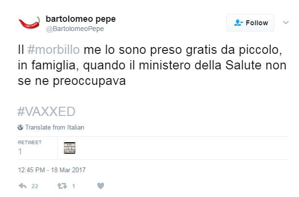 morbillo bartolomeo pepe morbillo party - 1