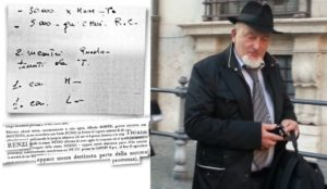 pizzino tiziano renzi 30000 euro