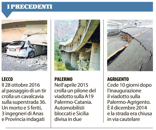ponte 167 autostrada a14 ancona