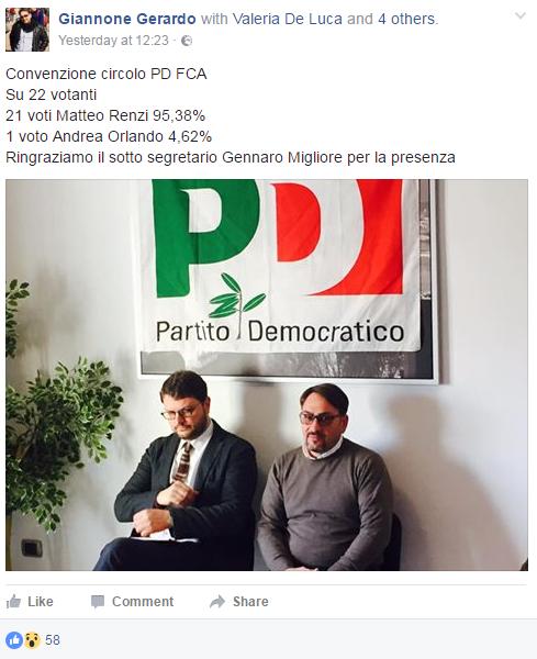 primarie pd numeri voti circoli matteo renzi - 5