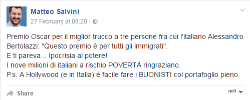 salvini gramellini fact checking - 1
