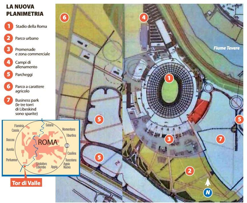 stadio roma tor di valle virginia raggi