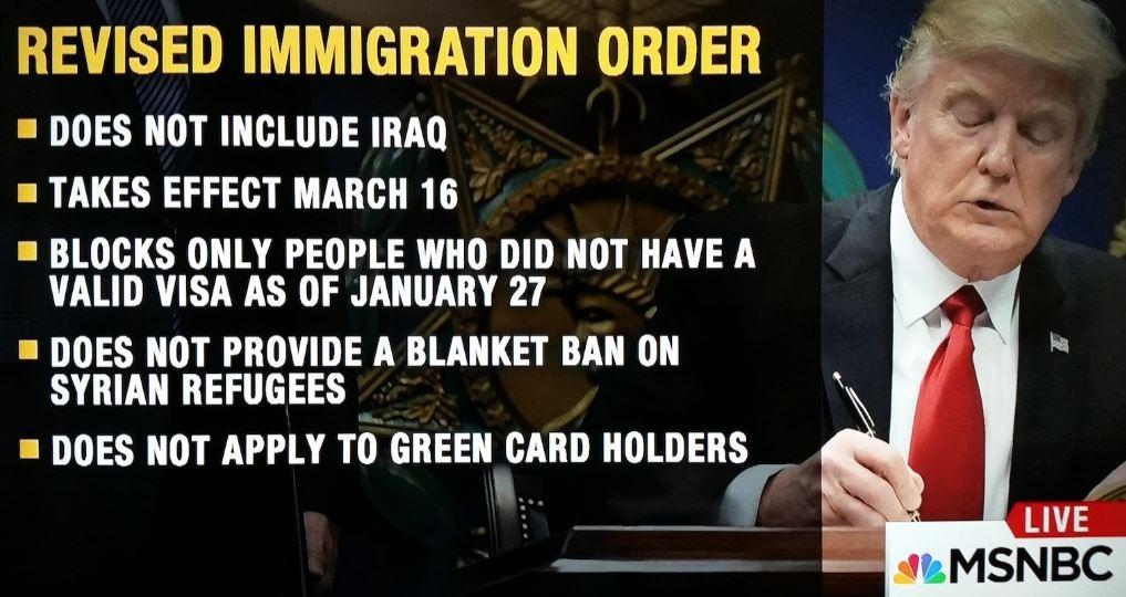 travel ban 2 donald trump