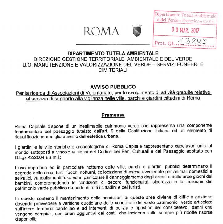 volontari roma #ovviamentegratis - 1