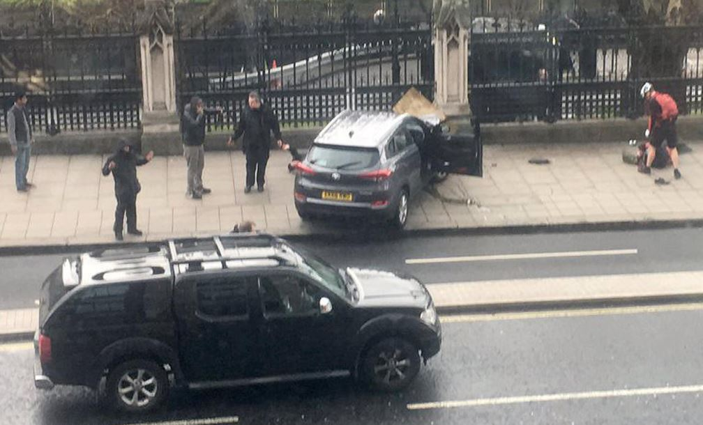 westminster attacco