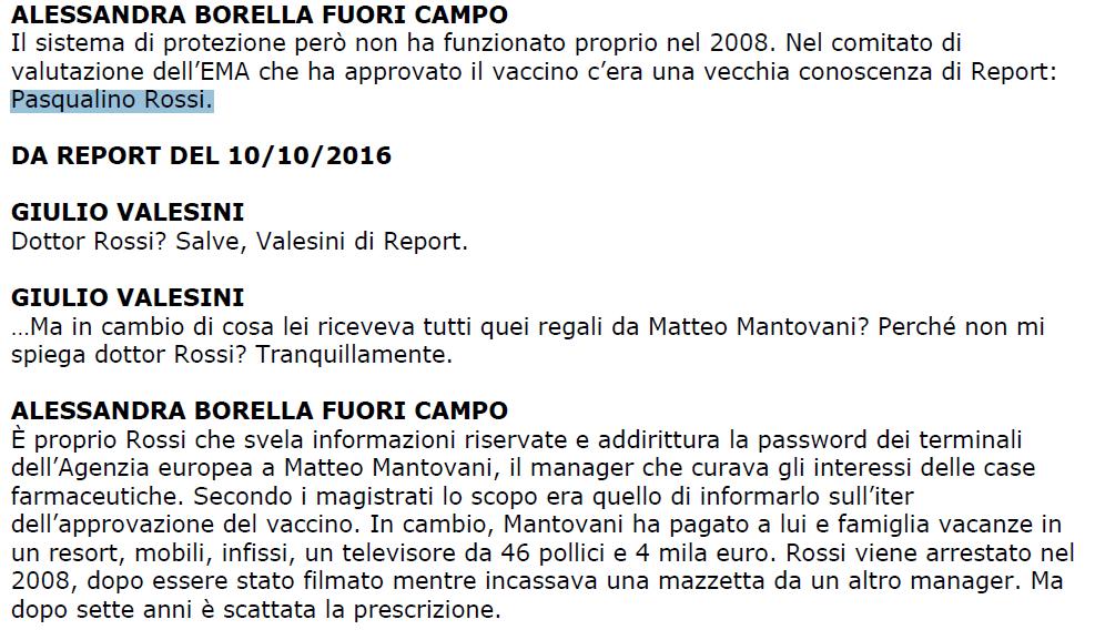 borella burioni hpv report vaccini - 2