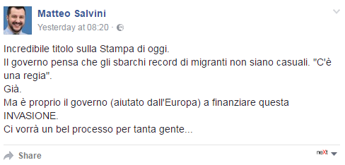 grillo migranti ong business - 8