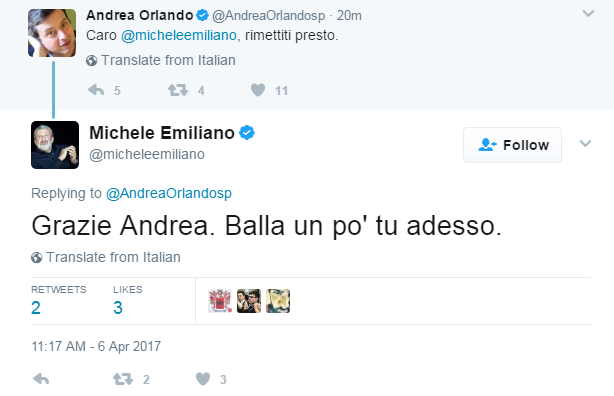 michele emiliano infortunio tarantella - 1
