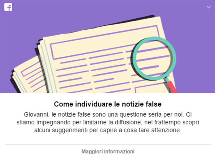 notizie false complotti fake news - 2