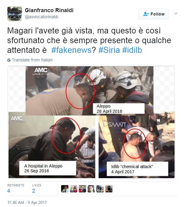 siria fake news complotti - 1