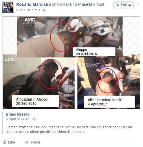 siria fake news complotti - 2