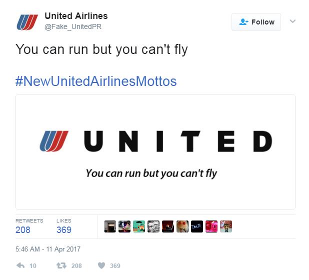 united airlines troll passeggero volo video - 7