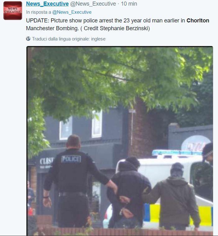attentato manchester chorlton