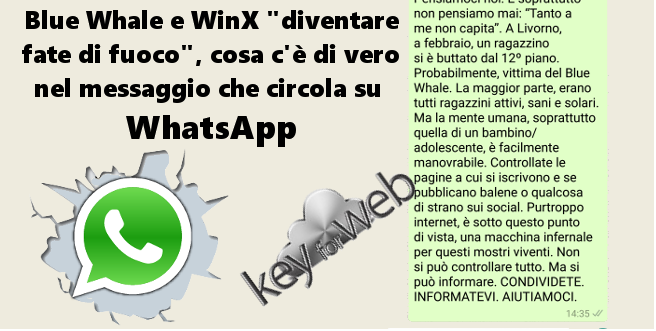 blue whale whatsapp italia - 1