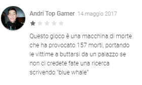 blue whale whatsapp italia - 4