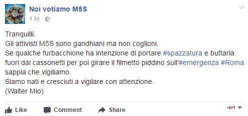 complotto renzi pd immondizia roma emergenza rifiuti - 3