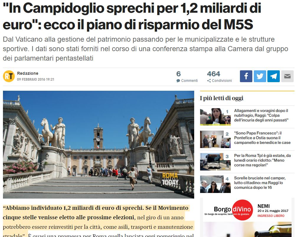 Roma, nuova ordinanza Raggi: no centurioni nel centro storico