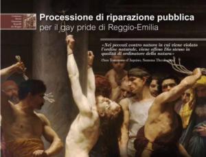 gay pride reggio emilia 2017 processione cattolici - 4