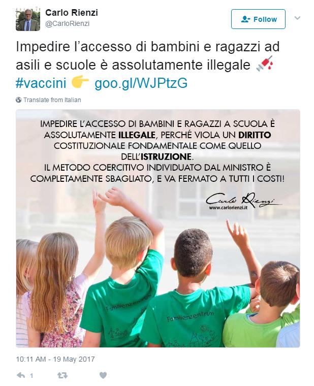 lorenzin vaccinazioni obbligatorie scuola decreto cdm - 4