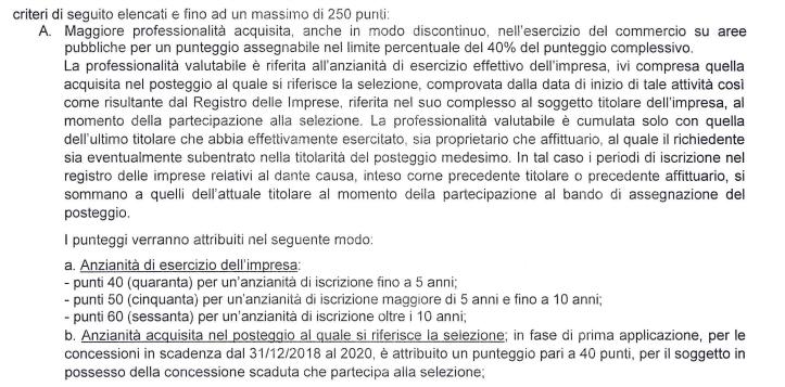 m5s tredicine regolamento commercio roma ambulanti - 5