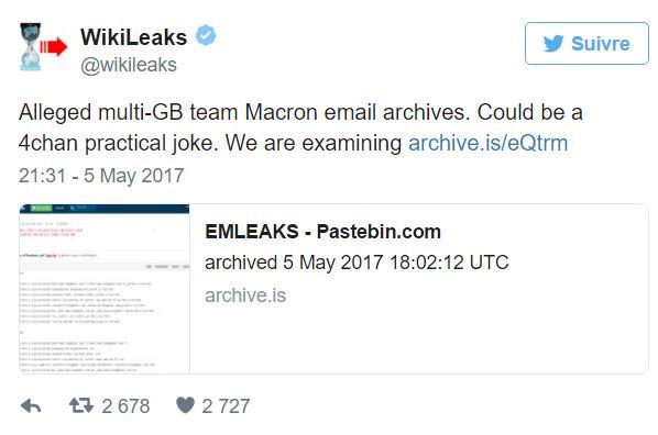 macron hacker