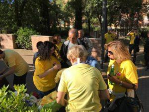 magliette gialle roma pd 2