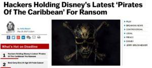 pirati dei caraibi film disney