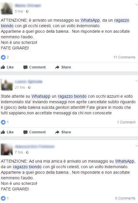 WHATSAPP CONTATTO RAGAZZO BIONDO