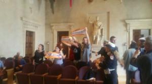 roma decide forum acqua pubblica proteste campidoglio - 1