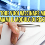 vaccini modulo di rischio garanzia di sicurezza - 4