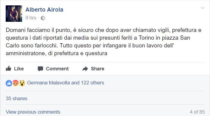 Panico a Torino, scoppiano le polemiche sulla sicurezza