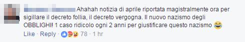 bambina morbillo roma free vax - 1