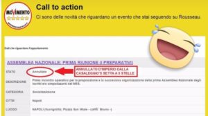 call to action rousseau assemblea m5s