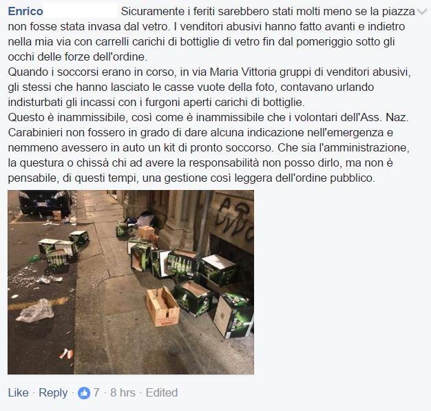1527 feriti a Torino? Per senatore Airola un complotto contro M5S