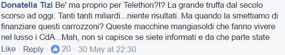 chiara appendino telethon 1