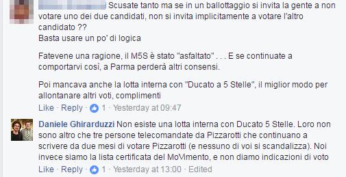 daniele ghirarduzzi parma pizzarotti sindaco 2017 -3