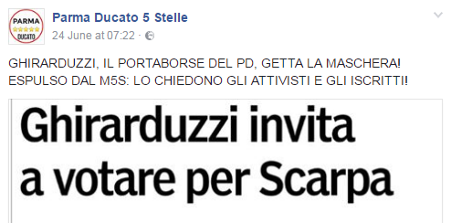 daniele ghirarduzzi parma pizzarotti sindaco 2017 -7