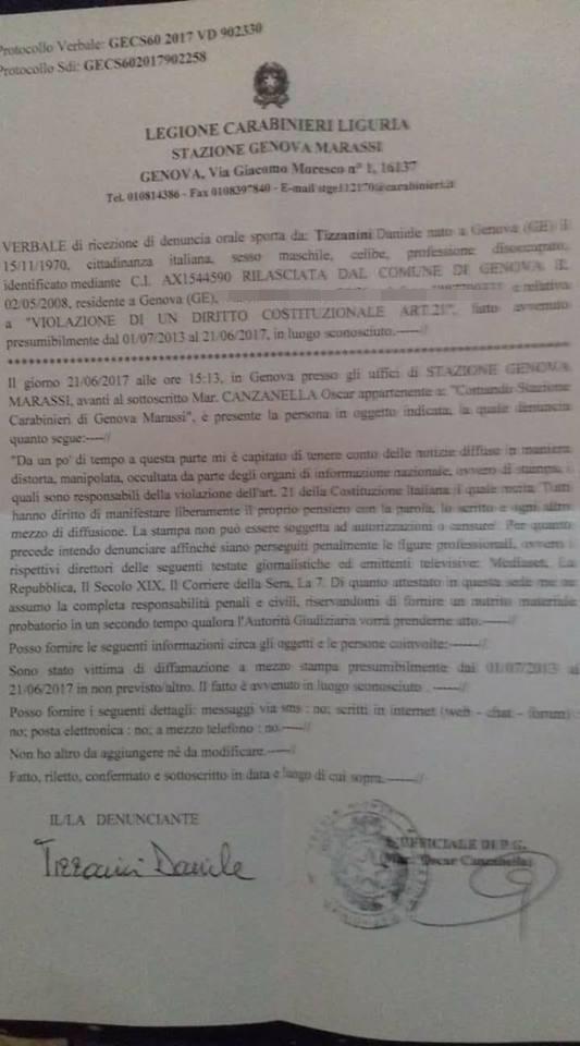 daniele tizzanini m5s denunce rai giornalisti - 2b